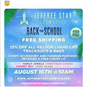 Jeffree Star Cosmetics!